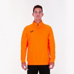 Mikina s dlouhým rukávem FARAON JOMA ½ zip – zářivě oranžová