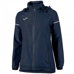 Běžecká dámská bunda JOMA RACE - pláštěnka - dlouhé rukávy – tmavě modrá NAVY
