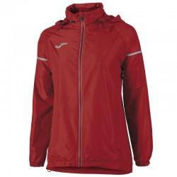 Běžecká dámská bunda JOMA RACE - pláštěnka - dlouhé rukávy – červená