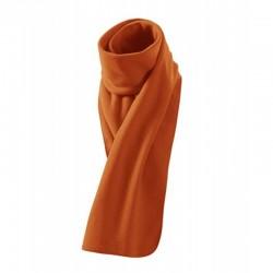Šála fleece Polar 155x25 cm antipillingová úprava - 230g -oranžová