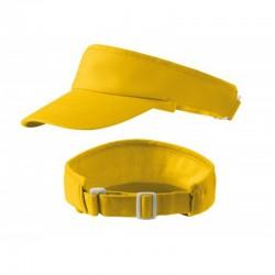 Čelenka s kšiltem - žlutá
