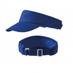 Čelenka s kšiltem - královská modrá