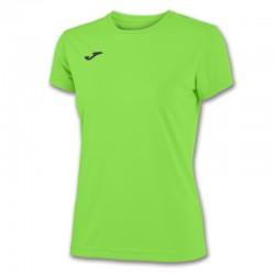 Dámské tričko JOMA COMBI – s krátkým rukávem – zářivě zelená