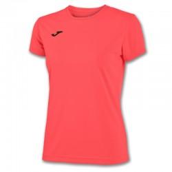 Dámské tričko JOMA COMBI – s krátkým rukávem – zářivě oranžová KORAL