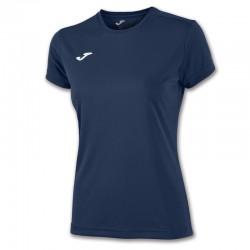 Dámské tričko JOMA COMBI – s krátkým rukávem – tmavě modrá NAVY