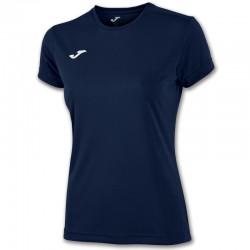 Dámské tričko JOMA COMBI – s krátkým rukávem – tmavě modrá DARK NAVY