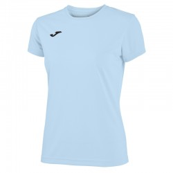 Dámské tričko JOMA COMBI – s krátkým rukávem – světle modrá SKY BLUE