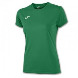 Dámské tričko JOMA COMBI – s krátkým rukávem – tmavě zelená