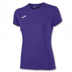Dámské tričko JOMA COMBI – s krátkým rukávem – fialová