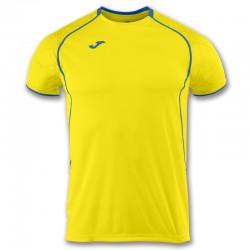 Tričko OLIMPIA FALL JOMA krátký rukáv – červená-žlutá