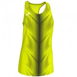 Běžecké dres JOMA RACE - bez rukávů – červená-bílá