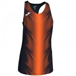 Běžecké dres JOMA RACE - bez rukávů – červená-žlutá