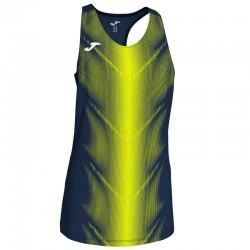 Běžecké dres JOMA RACE - bez rukávů – světle modrá ROYAL-bílá