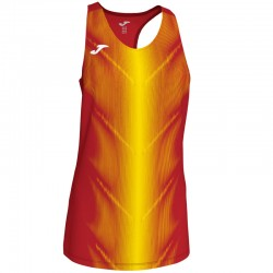 Běžecké dres JOMA RACE reflexní prvky - krátké rukávy – zářivý korál