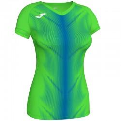 Běžecké dres JOMA RACE reflexní prvky - krátké rukávy – bílá