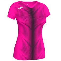 Běžecké dres JOMA RACE reflexní prvky - krátké rukávy – zářivě zelená LIME