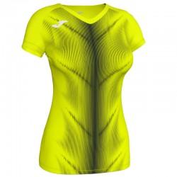 Běžecké dres JOMA RACE reflexní prvky - krátké rukávy – tmavě zelená