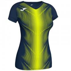 Běžecké dres JOMA RACE reflexní prvky - krátké rukávy – světle modrá ROYAL