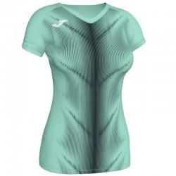 Běžecké dres JOMA RACE reflexní prvky - krátké rukávy – žlutá