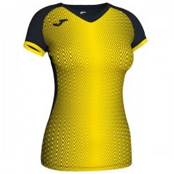 JOMA SUPERNOVA dámský dres s krátkým rukávem – černá-žlutá
