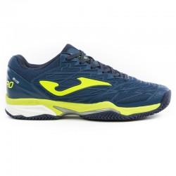 Tenisová dámská bota ACE PRO LADY JOMA 802 bílá-zelená – na antuku