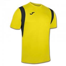 JOMA DINAMO sportovní dres s krátkým rukávem – žlutá-černá
