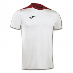 JOMA SPIKE sportovní dres s krátkým rukávem – bílá-červená