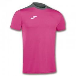 JOMA SPIKE sportovní dres s krátkým rukávem – růžová-šedá