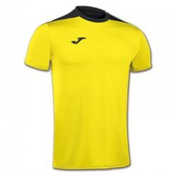 JOMA SPIKE sportovní dres s krátkým rukávem – žlutá-černá