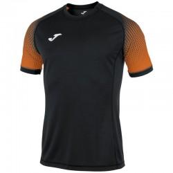 JOMA HISPA sportovní dres s krátkým rukávem, raglán – černá-oranžová