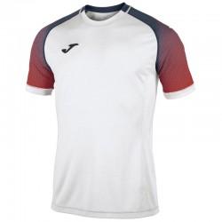JOMA HISPA sportovní dres s krátkým rukávem, raglán – bílá-červená