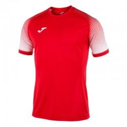 JOMA HISPA sportovní dres s krátkým rukávem, raglán – červená-bílá