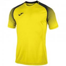 JOMA HISPA sportovní dres s krátkým rukávem, raglán – žlutá-černá