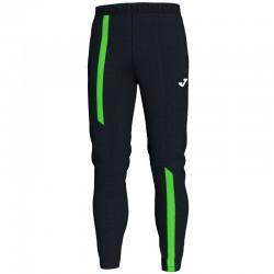 JOMA SUPERNOVA tepláky s dlouhou nohavicí – černá-zářivě zelená