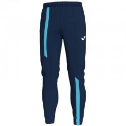 JOMA SUPERNOVA tepláky s dlouhou nohavicí – tmavě modrá NAVY-zářivě tyrkysová