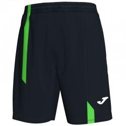JOMA SUPERNOVA sportovní kraťasy – černá-zářivě zelená