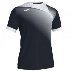 JOMA HISPA II sportovní dres s krátkým rukávem – černá-bílá