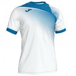 JOMA HISPA II sportovní dres s krátkým rukávem – bílá-modrá ROYAL