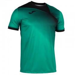JOMA HISPA II sportovní dres s krátkým rukávem – zelená-černá
