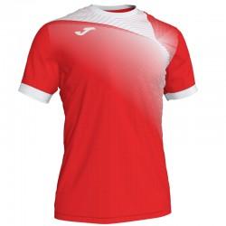 JOMA HISPA II sportovní dres s krátkým rukávem – červená-bílá