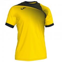 JOMA HISPA II sportovní dres s krátkým rukávem – žlutá-bílá