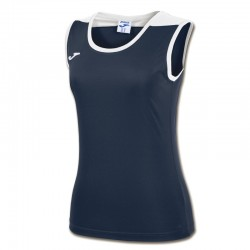 JOMA SPIKE dámský dres bez rukávu – tmavě modrá NAVY-bílá