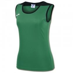 JOMA SPIKE dámský dres bez rukávu – zelená-černá