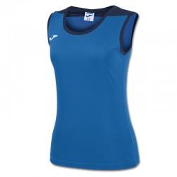 JOMA SPIKE dámský dres bez rukávu – světle modrá ROYAL-tmavě modrá NAVY