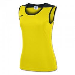 JOMA SPIKE dámský dres bez rukávu – žlutá-černá