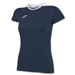 JOMA SPIKE dámský dres s krátkým rukávem – tmavě modrá NAVY-bílá