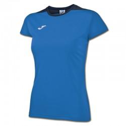 JOMA SPIKE dámský dres s krátkým rukávem – světle modrá ROYAL-tmavě modrá NAVY