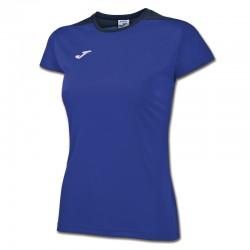 JOMA SPIKE dámský dres s krátkým rukávem – tmavě modrá ROYAL-černá