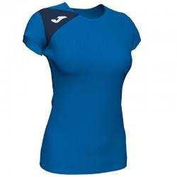 JOMA SPIKE II dámský dres s krátkým rukávem – světle modrá ROYAL-tmavě modrá NAVY