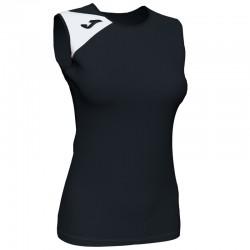 JOMA SPIKE II dámský dres bez rukávu – černá-bílá